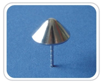 Pin etichete antifurt detasabile PIN-04 pentru porti antifurt